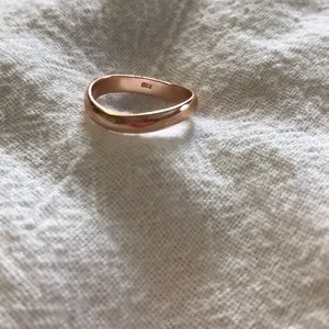 Jewelry - Rose gold ring {NWOT}
